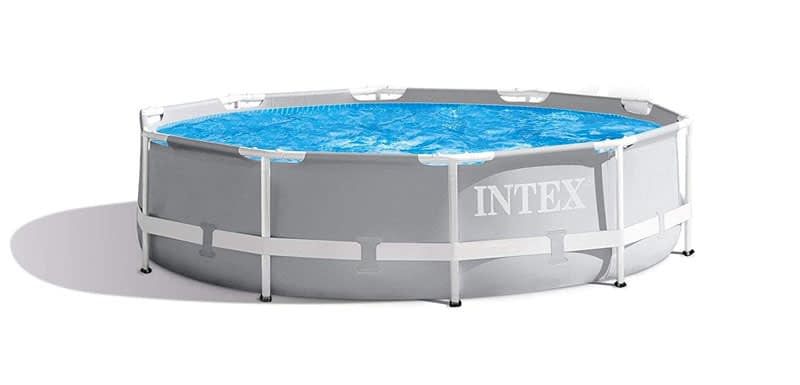 Intex 10 Feet x 30 Inches Prism Frame Above-Ground Swimming Pool