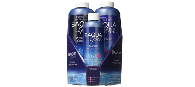 Baqua Spa 88863 3-Part Introductory Pack Spa Maintenance
