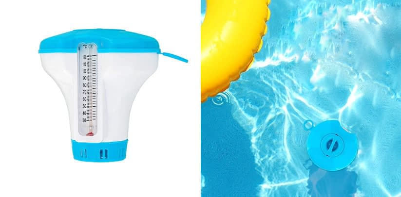 U.S. Pool Supply Spa Hot Tub Small Pool Floating Tablet Chemical Dispenser