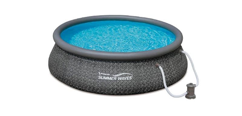 Summer Waves Ring Above Ground Pool with Pump.psd
