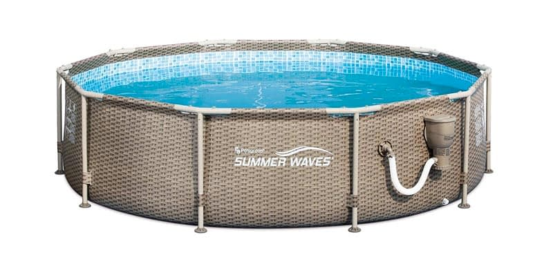 Summer Waves 10ft x 30in Frame Swimming Pool