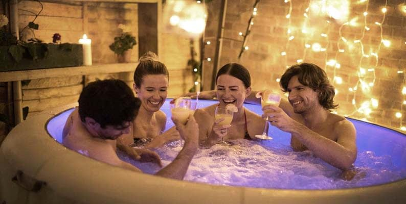 Have Hot Tub Entertainment and Other Activities Planned