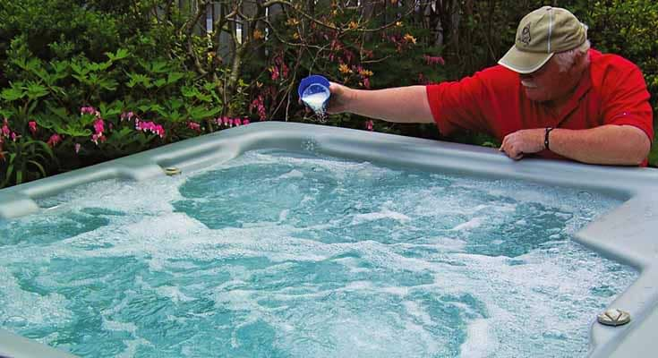Bromine Sanitizer for Hot Tub