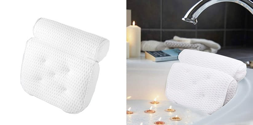 AmazeFan Bath Spa Pillow Bathtub Spa Pillow