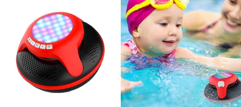 cowin Swimmer IPX7 Floating Waterproof Bluetooth Speakers Portable Wireless Speaker