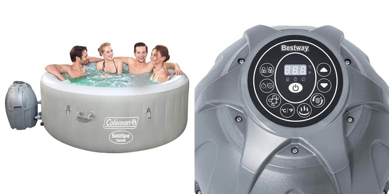 4. Coleman Saluspa Tahiti Airjet Hot Tub with LED Lights Review