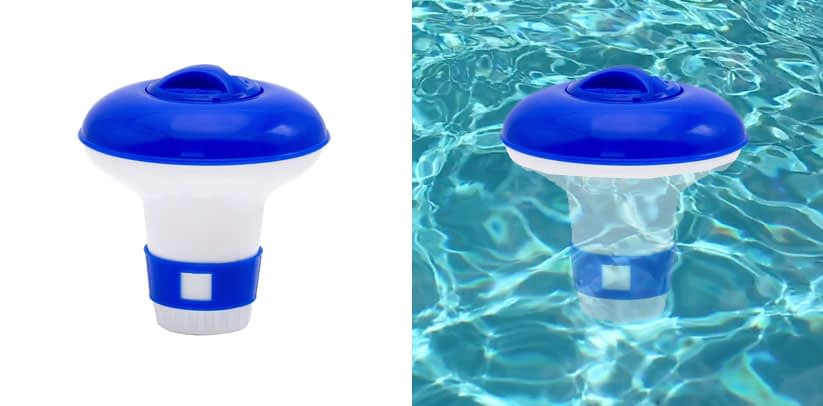 WWD Mini Floating Pool & Spa Chlorine Dispenser