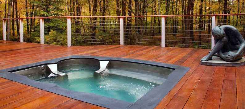 Built in Hot Tub Types