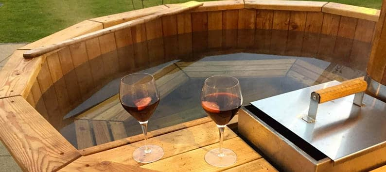 Electric vs Wood Fired Hot Tubs