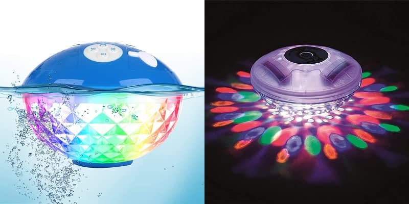 Uekars Floating Colorful light with Bluetooth speakers