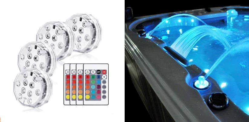 Haofy Submersible Led Lights with Remote