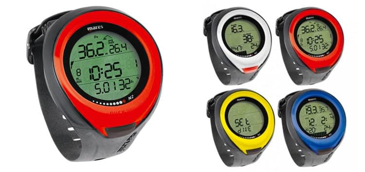 The Mares Puck Pro Dive Computer Wrist Watch