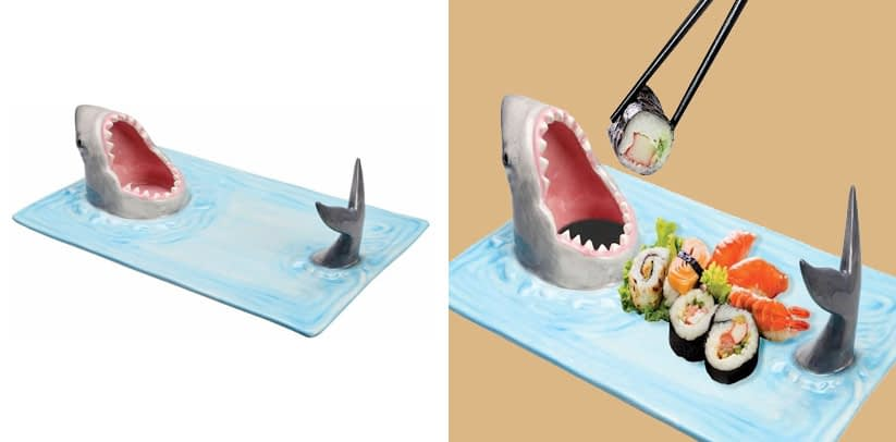 WHAT ON EARTH Shark Attack Sushi Platter