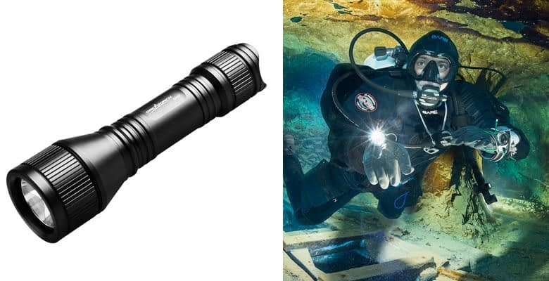 ORCATORCH Upgraded Version D550 Dive Light