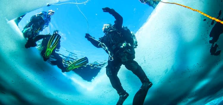 Step by Step Guide to Warming Up After a Cold Dive