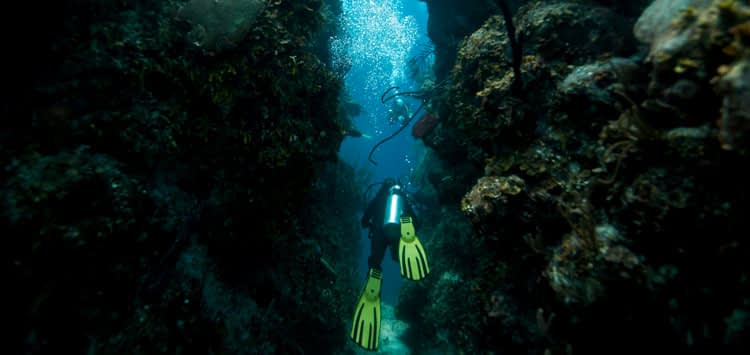 Cave Diving Blue Hole Belize
