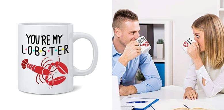 You are my lobster Mug