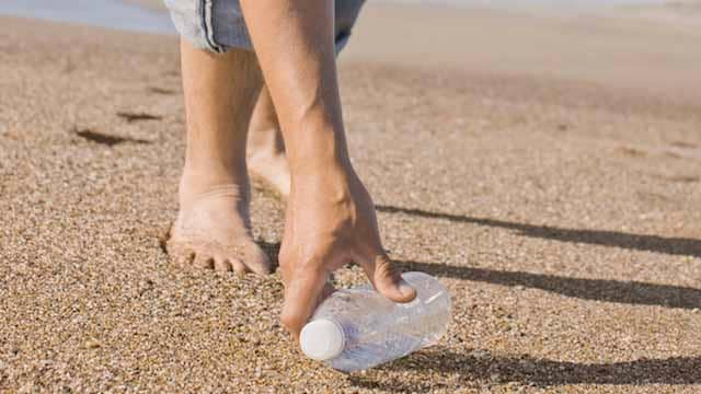 Use less plastics to help ocean conservation