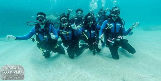 Hawaii Eco Divers Scuba Divers