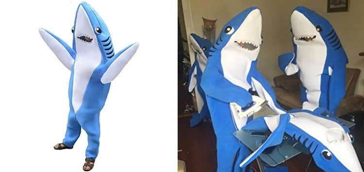 Left Party Shark Costume
