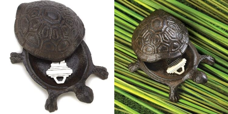 Gifts & Décor Cast Iron Turtle Key Hider Store