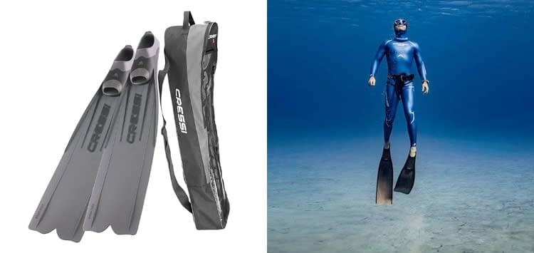Cressi Gara 3000 LD Long Distance Long Blade Diving Fins