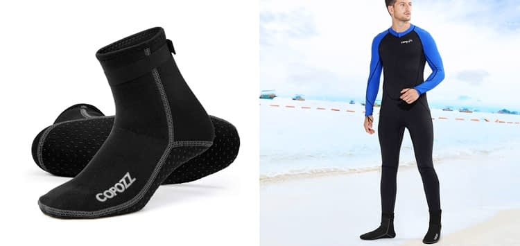 COPOZZ Diving Socks 3mm Neoprene Beach Water Socks