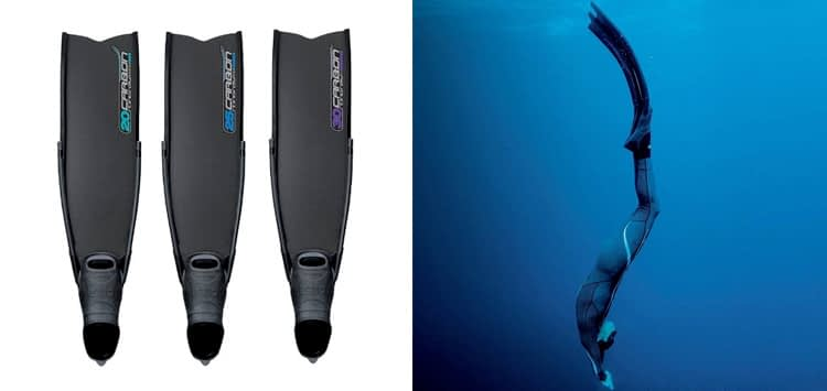 Omer Stingray Carbon Fiber Freediving Fins