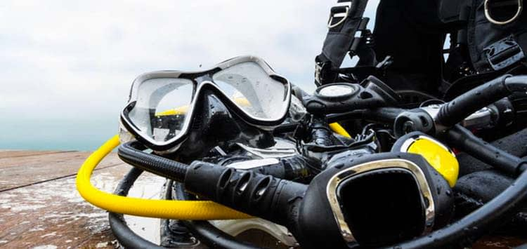 Pre Your Dive Gear before a Vacation