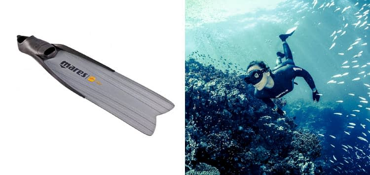 Mares Razor Pro Spearfishing Freediving Long Blade Fins