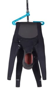 Hanging a Wetsuit