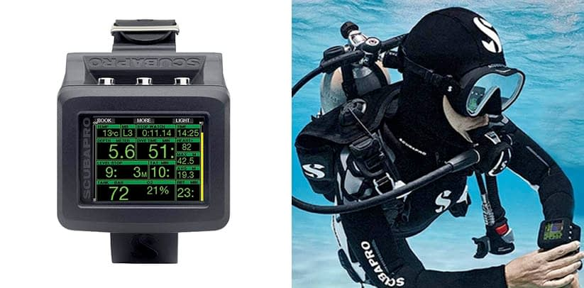 Scubapro G2 Wrist Dive Computer With Transmitter and HRM