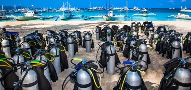 Diving Equipment to Shop