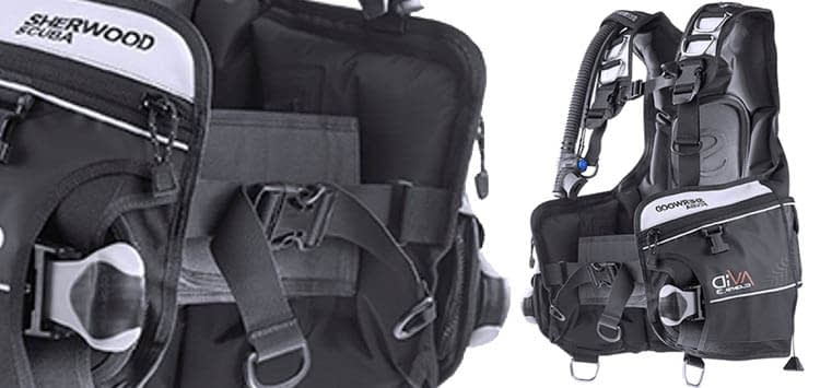 Sherwood Avid Weight Integrated Jacket BCD