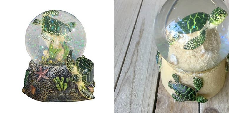 StealStreet 3.75 Inch Marine Life Snow Globe with Sea Turtle