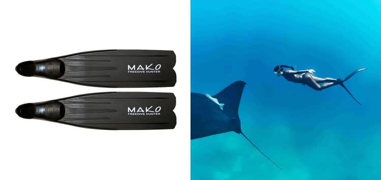 MAKO Spearguns Freedive Hunter Freediving Fins