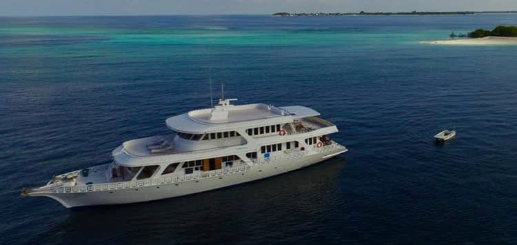Eco Blue Liveaboard, Maldives Diving