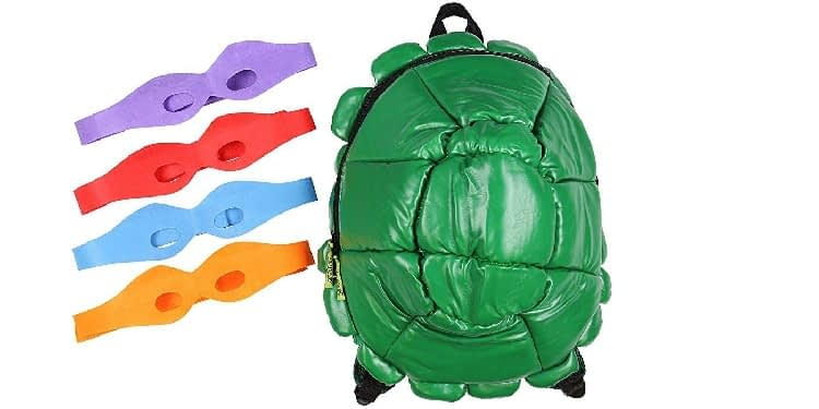 Bioworld TMNT Shell Backpack, Green