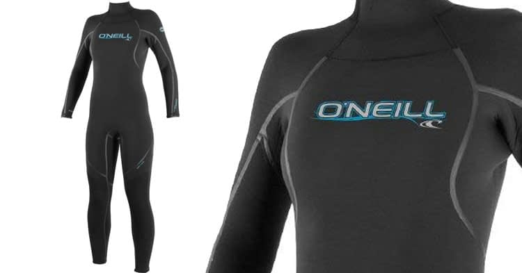 O'Neill Women's Dive Sector 5mm Back Zip Full Wetsuit