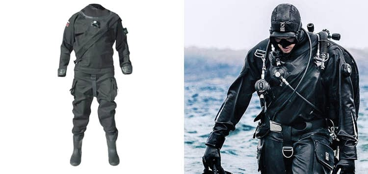 Pinnacle Evolution 2 Unisex Dry suit for Scuba Diving