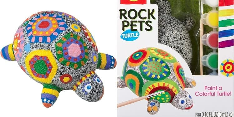 Alex Craft Rock Pets Turtle Kids Art and Craft Activity 2