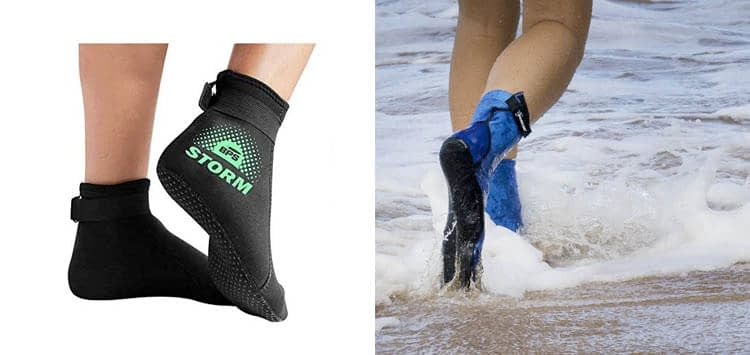 BPS 'Storm Sock' Ultra Premium Water Fin Sock