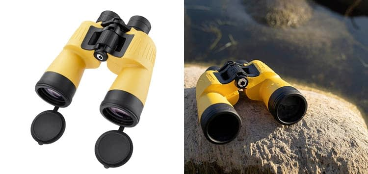 BARSKA AB12738 Floatmaster 7x50 Waterproof Floating Marine Binoculars for Boating