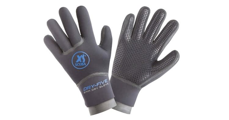 XS Scuba 5mm Dry Five Pyrostretch Dry Gloves