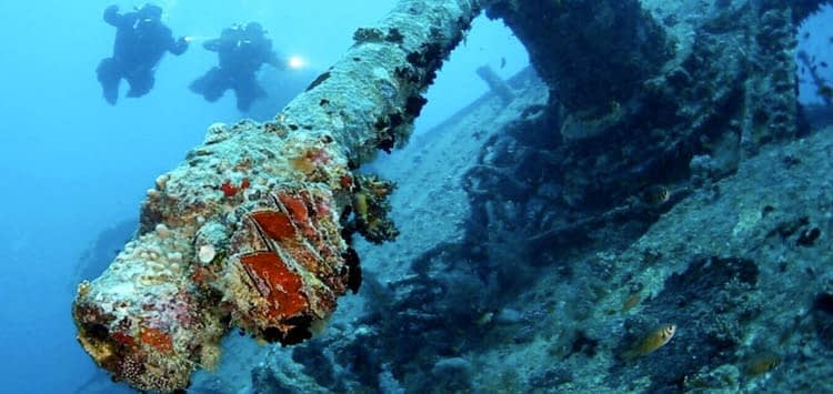 SS Thistlegorm Dive Conditions