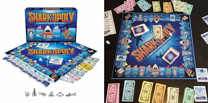 Late for the Sky Sharkopoly Board Game