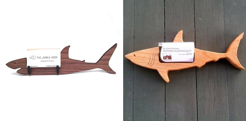 The Jungle Book Shark business card holder