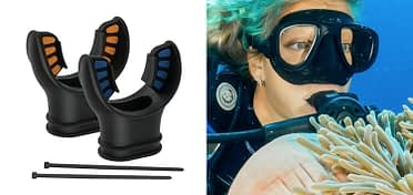 Silicone Mouthpiece Replacement for Scuba Diving Regulator Octopus Snorkel