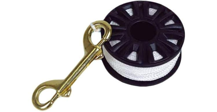 Scuba Max Finger Spool with Brass Clip Line Holder Reel
