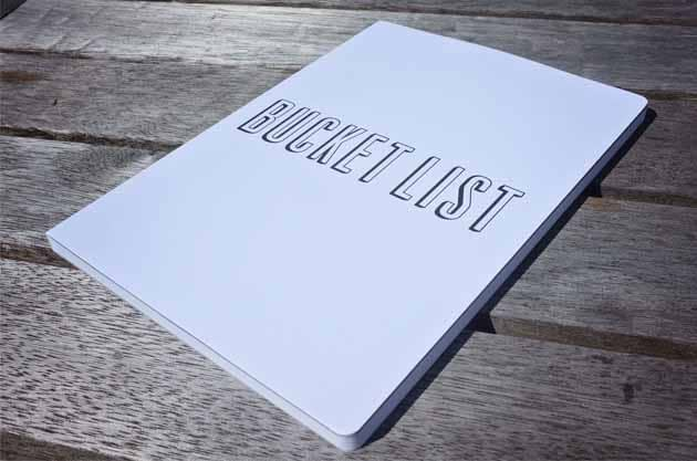 Book bucket list